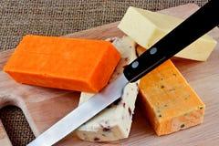 Fromage à pâte dure Image libre de droits