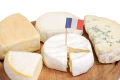 Fromage à pâte molle français Images stock