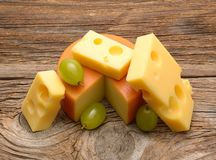 Fromage photographie stock