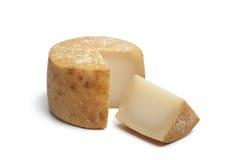Fromage Basque traditionnel du lait de mouton Images libres de droits