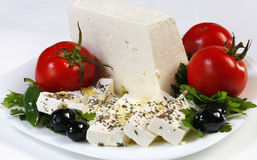 Fromage blanc bulgare Image stock