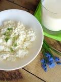 Fromage blanc frais Photos stock