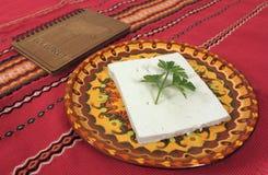 Fromage bulgare Photos libres de droits