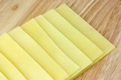 fromage coupé en tranches Image libre de droits