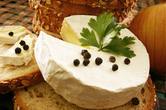 Fromage délicieux Images stock