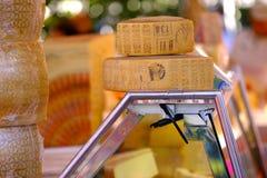 Fromage délicieux, un bon nombre de têtes Photographie stock libre de droits
