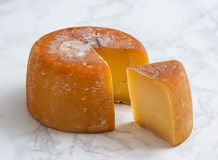 Fromage d'Ahumado de Aliva Images stock