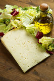Fromage d'Asiago photographie stock