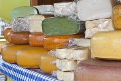 Fromage d'une petite ferme Photographie stock libre de droits