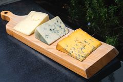 Fromage de Cartmel photographie stock