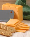 Fromage de cheddar Photo stock
