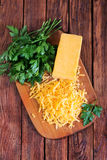 Fromage de cheddar images stock