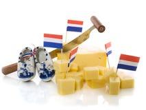 Fromage de Hollande Image libre de droits