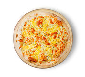 Fromage de la pizza quatre Images stock