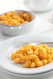 Fromage de macaronis photographie stock libre de droits