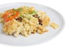 Fromage de macaronis image libre de droits