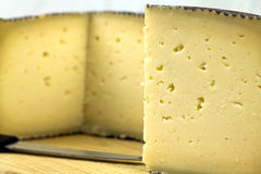 Fromage de Manchego Photo stock