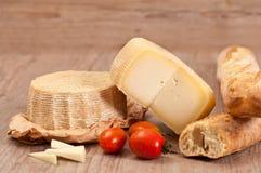 Fromage de Pecorino Photographie stock