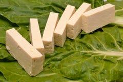 fromage de ricotta, épinards image libre de droits