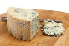 Fromage de Stilton Photos stock