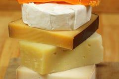 Fromage empilé Image libre de droits