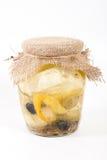 Fromage en marinade Photo libre de droits
