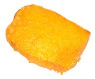 Fromage grillé sur le pain grillé Image stock