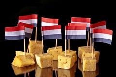 Fromage hollandais de conserves au vinaigre de Hollande Photographie stock libre de droits