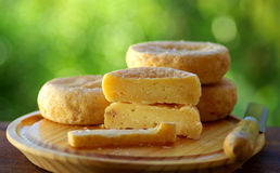 Fromage portugais image stock