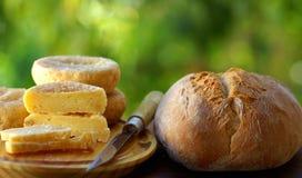 Fromage portugais Photos libres de droits
