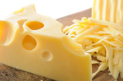 Fromage suisse Image stock