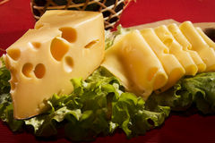 Fromage suisse Photos stock