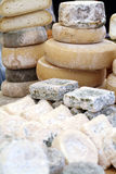 Fromage type d'Italien Images stock