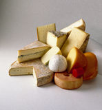 Fromages assortis Photos stock