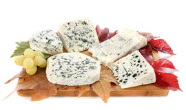 Fromages bleus Images stock