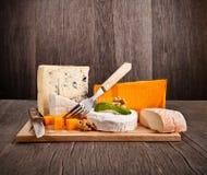 Fromages français Photos stock