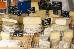 Fromages français Images stock