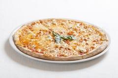 Fromaggi di quatrro della pizza (formaggio quattro) Immagine Stock Libera da Diritti