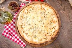 Fromaggi italiano do quattro da pizza Imagens de Stock Royalty Free