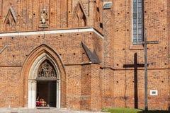 Frombork - καθεδρικός ναός. Στοκ εικόνα με δικαίωμα ελεύθερης χρήσης