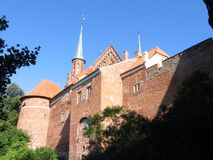 Frombork στην Πολωνία Στοκ εικόνα με δικαίωμα ελεύθερης χρήσης