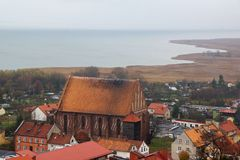 Frombork Royaltyfria Bilder