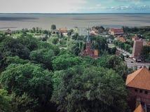 Frombork στοκ εικόνες