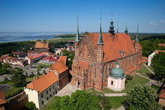 Frombork Cathedral Stock Photography