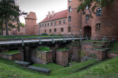 Frombork Cathedral, place where Nicolaus Copernicus was buried. Stock Images