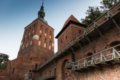Frombork Cathedral, place where Nicolaus Copernicus was buried. Stock Photo