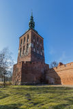 Frombork katedra Zdjęcia Royalty Free