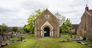 Frome Dissenters Cemetery and Chapel in Vallis Road, Frome, Somerset, UK