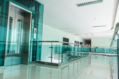 Interior with Glass Royalty Free Stock Photography