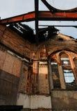 Fromme Gebäuderuine IX stockfoto